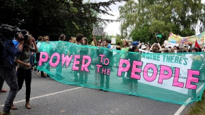 Balcombe protest - credit sheilabythesea, Flickr