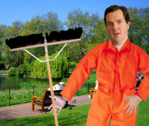 George Osborne the sweeper